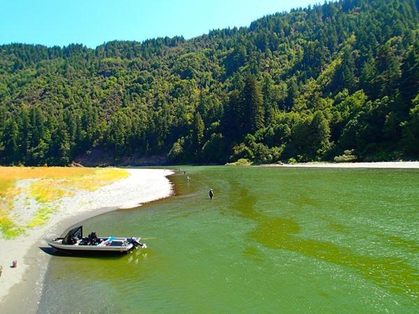 The Lower Klamath has amazing swing water