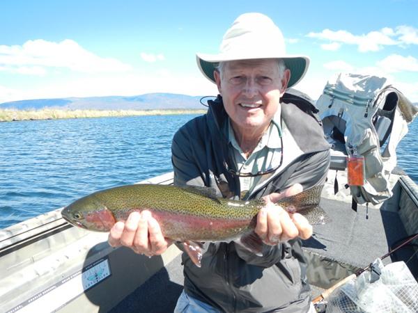 Dick's big fish of the trip