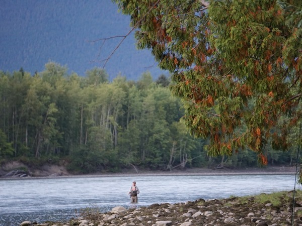 The home water of Skeena Spey Lodge