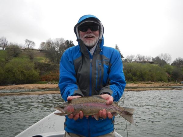 Dave landed this one on a dry fly