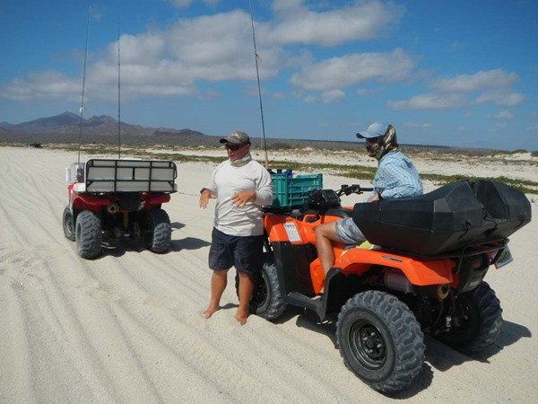 Jeff deBrown explains the strategy of beach fishing