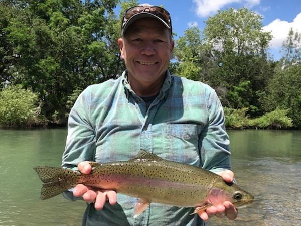 Dan's big fish of the day