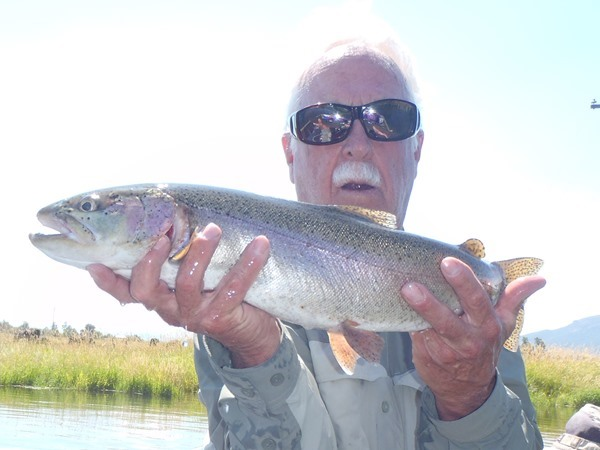 Steve's big Fall River Rainbow