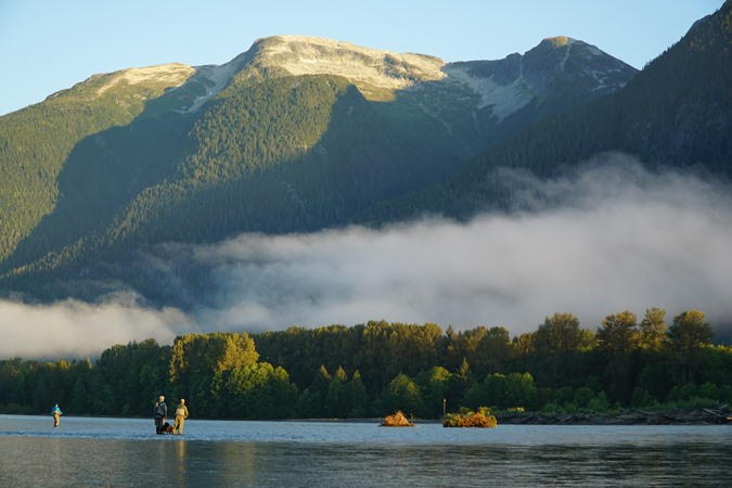 The Skeena is know as the River of Mist
