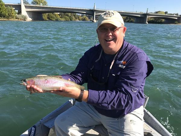 Al had some nice fish today