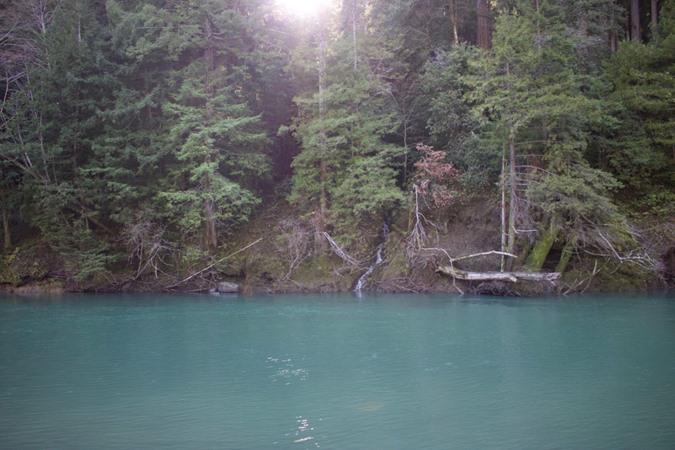 Dream water on the Eel