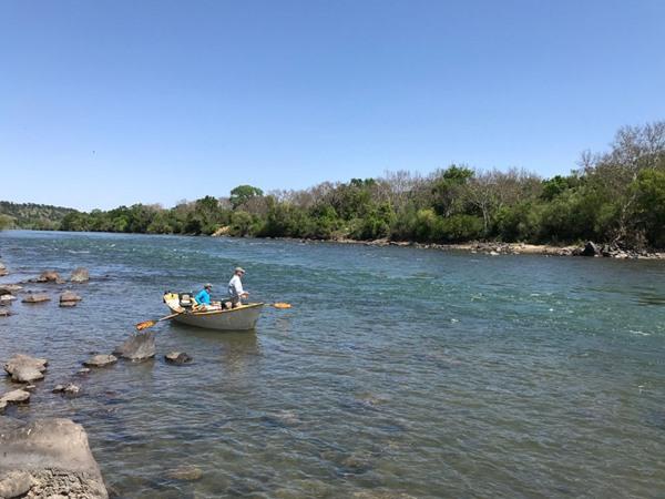 fishing in solitude