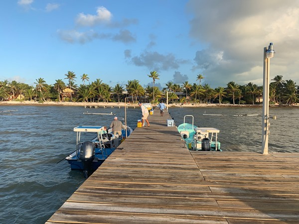 The dock at El Pescador