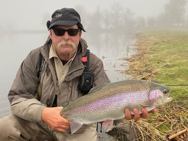Dave with a big rainbow