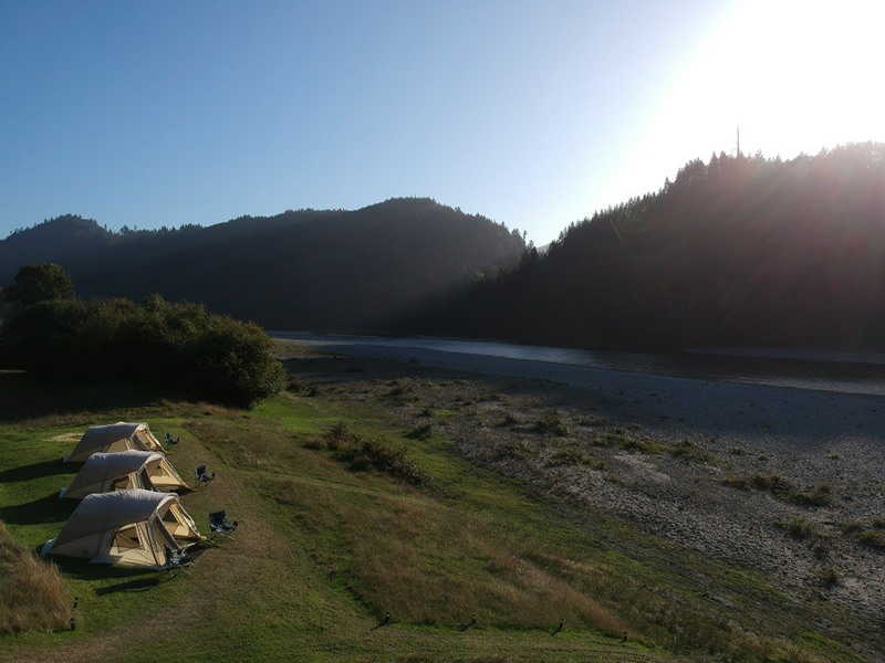 Amazing views, sunsets, and star gazing from camp