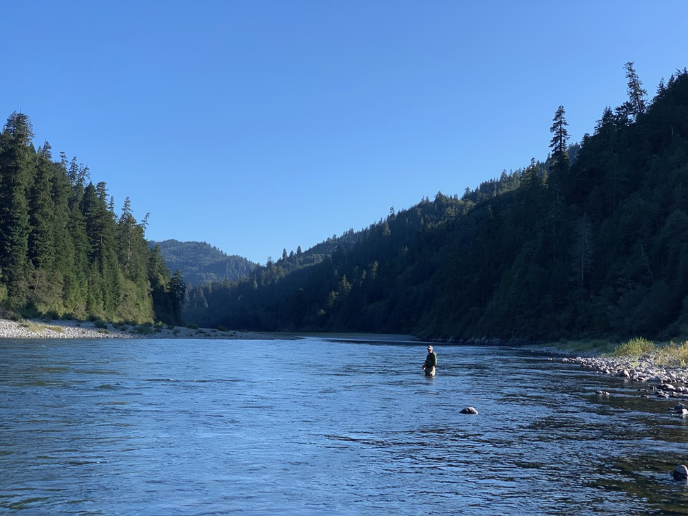 Swinging the Lower Klamath