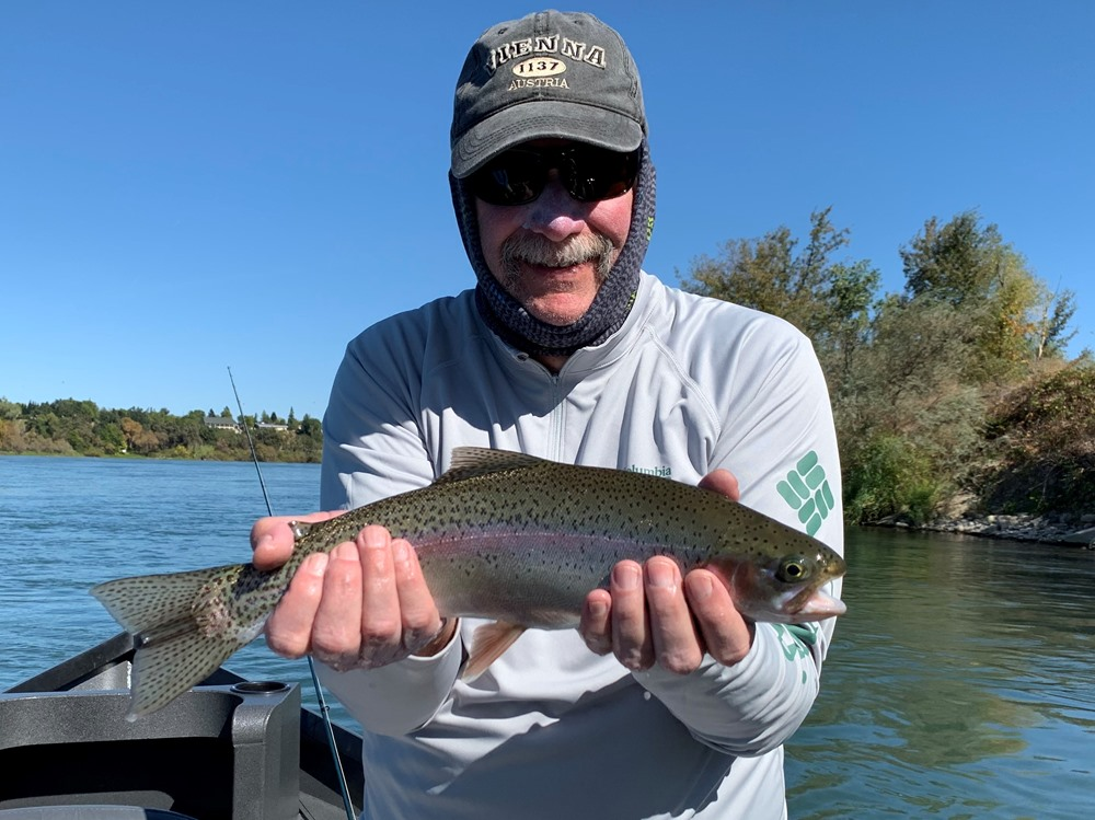 Jim with a nice one