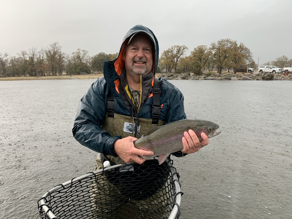 Jeff with a nice trout