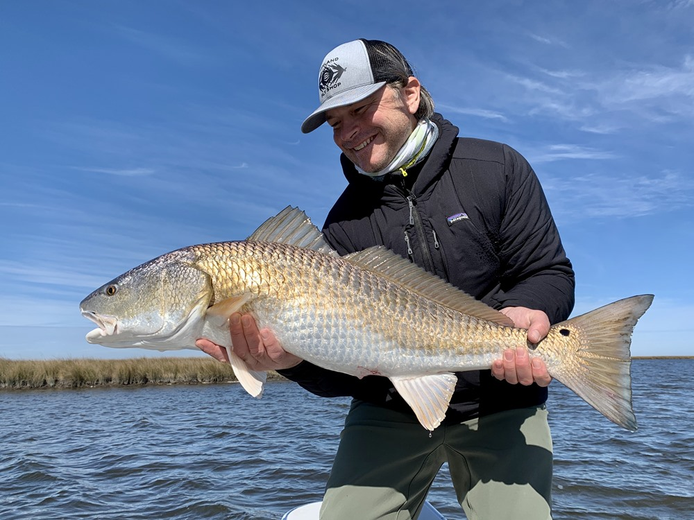 Bull Redfish pull extremely hard