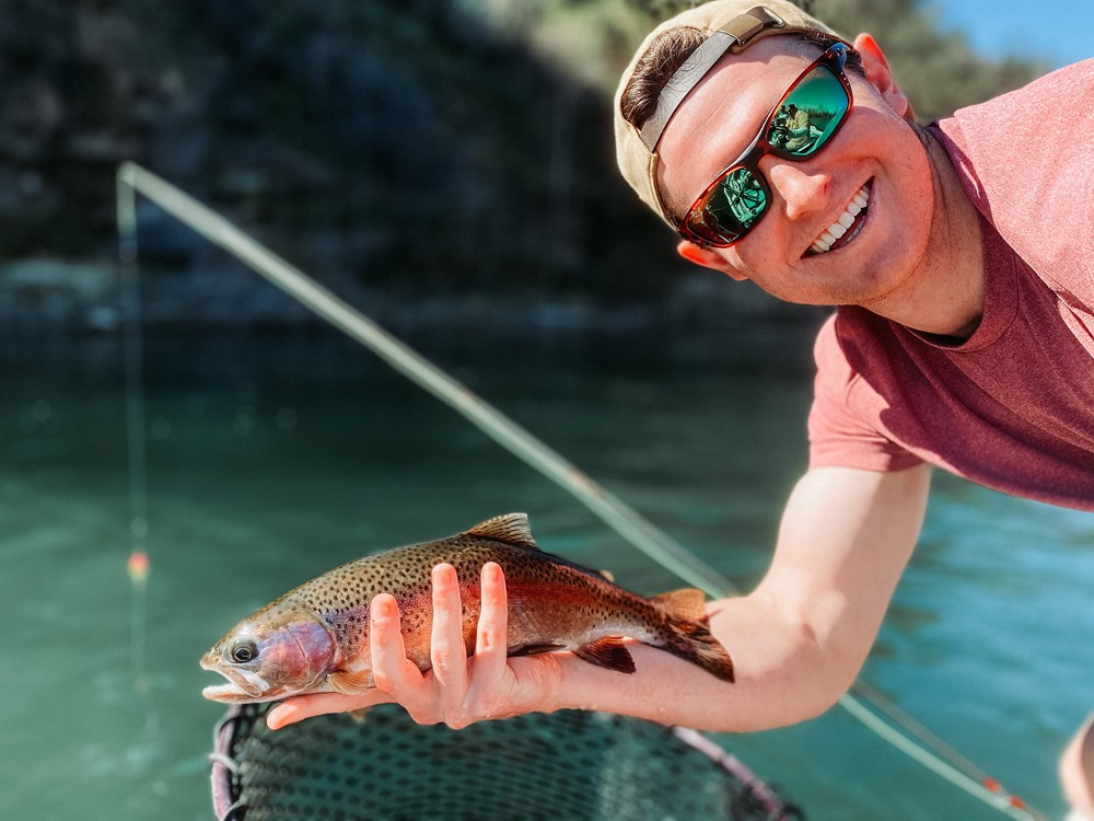 Dom's beautiful 'bow caught on a UV sally!