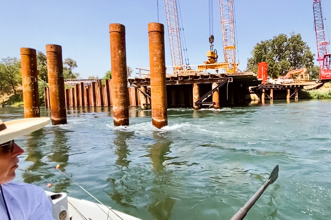 Work begins on the new Jelly's Ferry Bridge