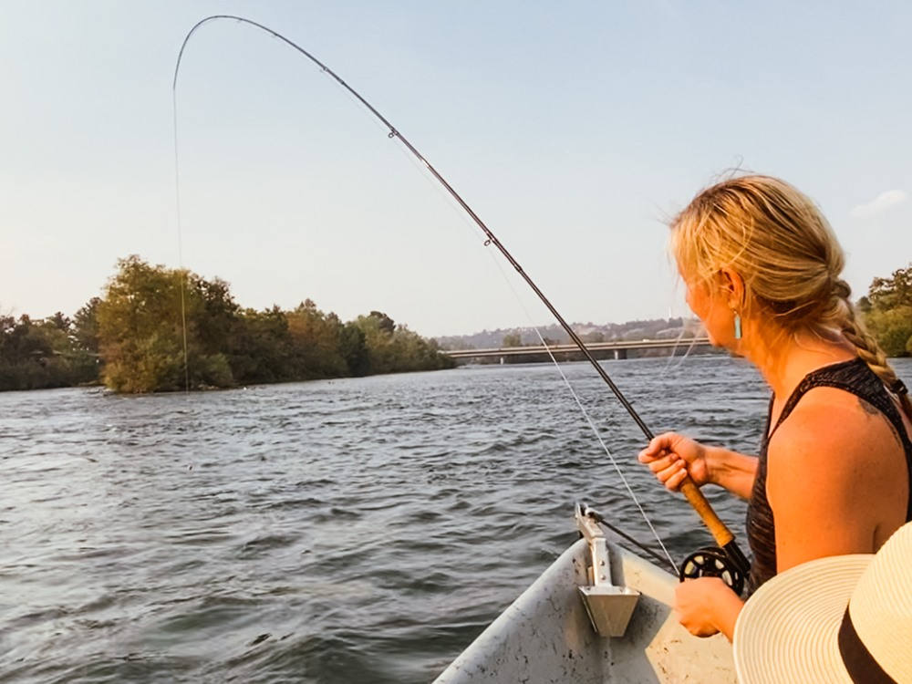 Dawn hooked up with a number of quality fish!