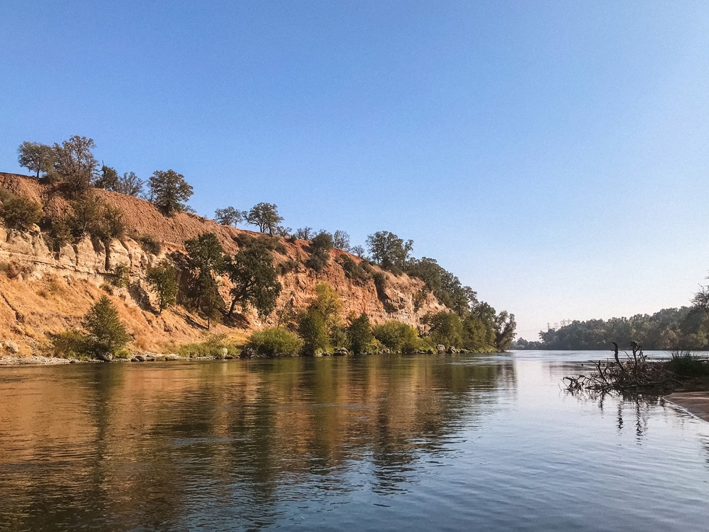 The Sacramento River and surrounding scenery is amazing.