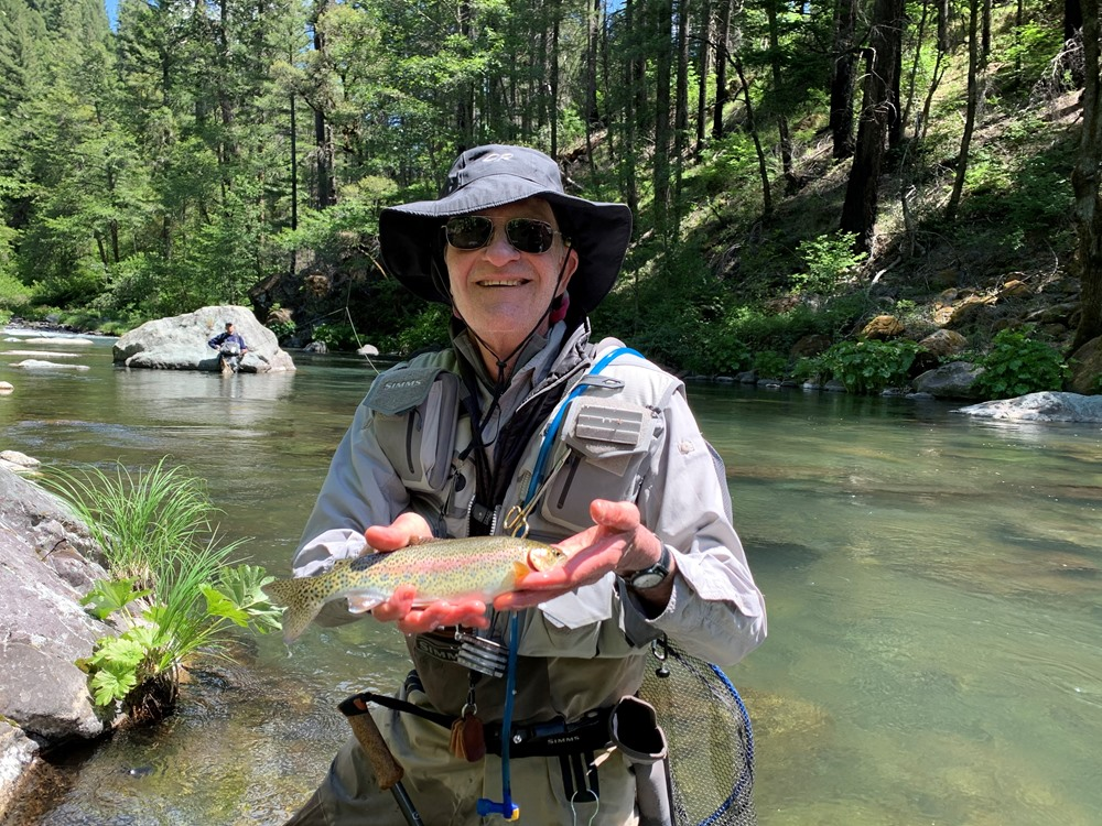 Larry with a nice McCloud rainbow