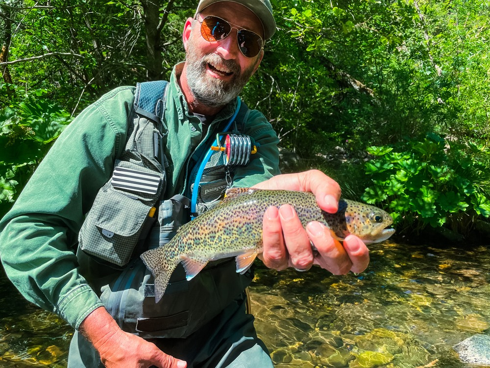 Grabby trout for Scott…