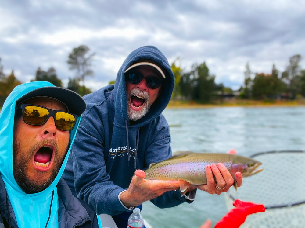 This is the face you fish when you scream in celebration!