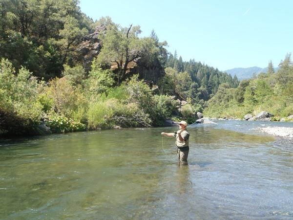 McCloud River Fishing Image