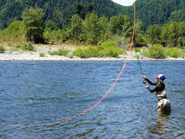Klamath River Fishing Image