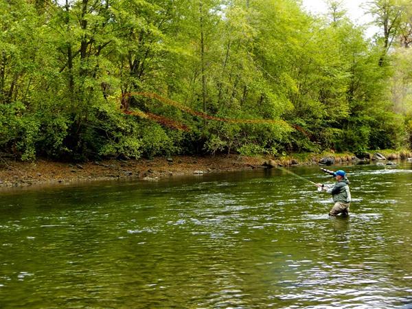 Trinity River Fishing Image