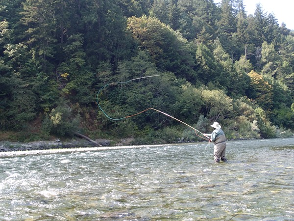Klamath River Fishing Image