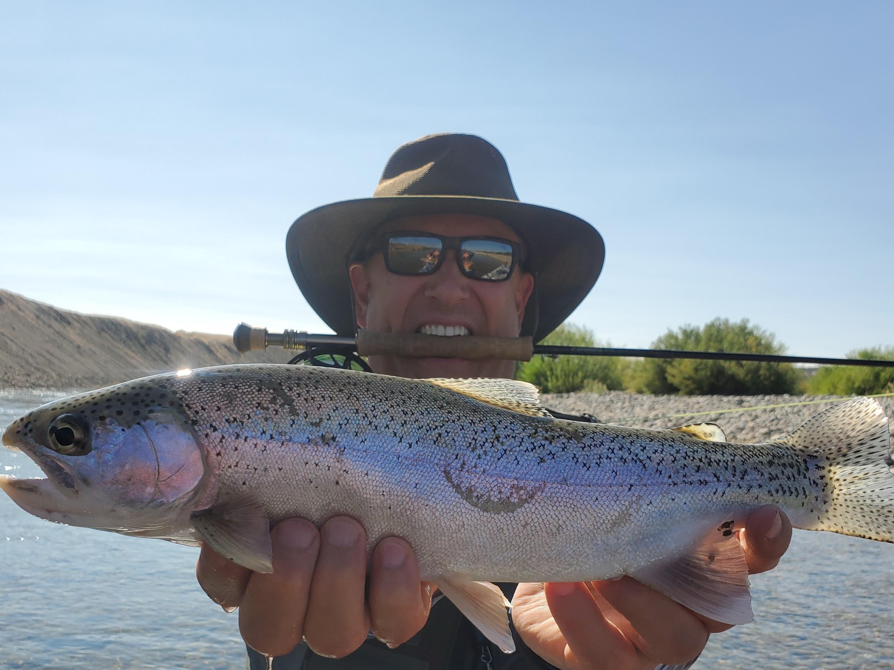 Yuba River Fishing Image