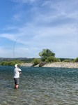 Yuba River Fishing Image