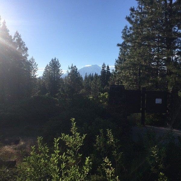 Spending all day in the shadow of Mt. Shasta