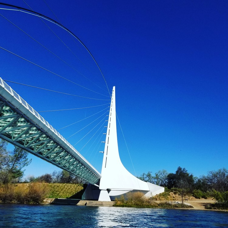 Sundial Bridge Lower Sac