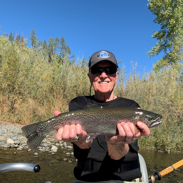 Bob with a very nice hatchery steelhead!